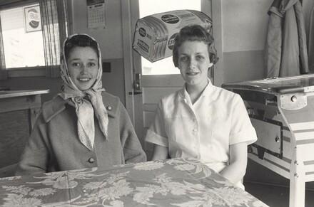 Wade Ward's Granddaughters, Galax, Virginia