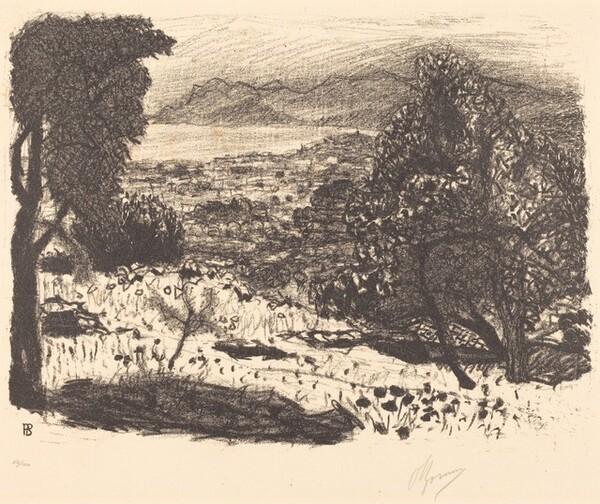 Landscape in the South of France (Paysage du midi)