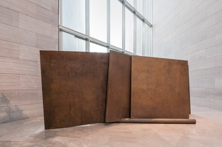Richard Serra, Five Plates, Two Poles, 19711971