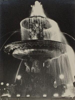 Fontaine, place de la Concorde, Paris