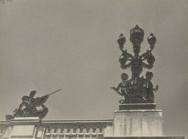 Streetlamp on the Pont Alexander III, Paris