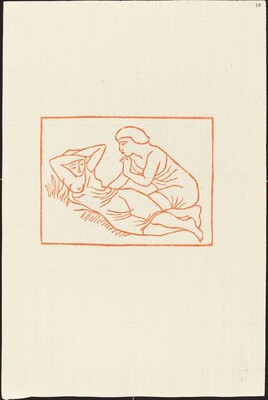 First Book: Daphnis Observes the Sleeping Chloe (Daphnis regarde Chloe dormir)