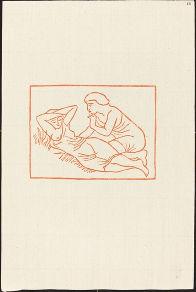 First Book: Daphnis Observes the Sleeping Chloe (Daphnis regarde Chloe dormir)