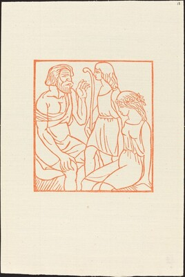 Second Book: Philetas Speaking to Daphnis  and Chloe (Le discours de Philetas a Daphnis et Chloe)