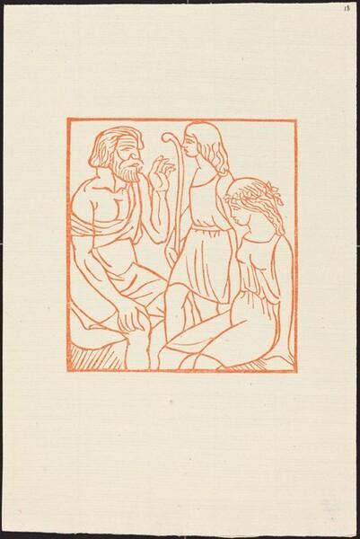 Second Book: Philetas Speaking to Daphnis  and Chloe (Le discours de Philetas a Daphnis et Chloe)