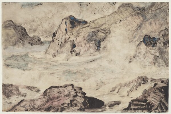 Untitled (Rocky Shore)