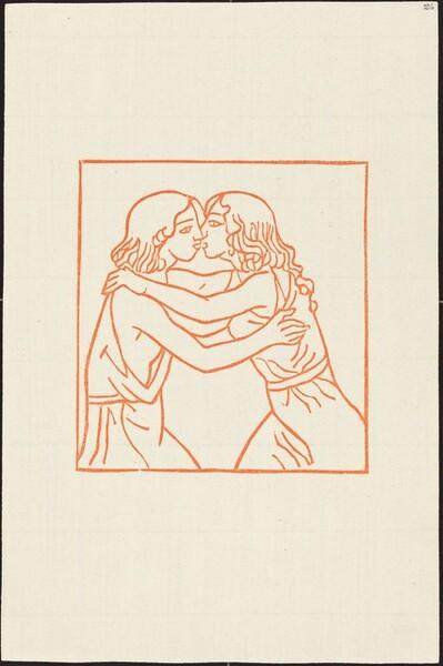 Second Book: Daphnis Rushing into the Embraces of Chloe (Daphnis et Chloe se retrouvent apres la captivite de Chloe