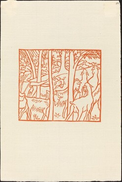 Second Book: Daphnis Driving Home His Flock (Daphnis ramene ses betes a l'etable)