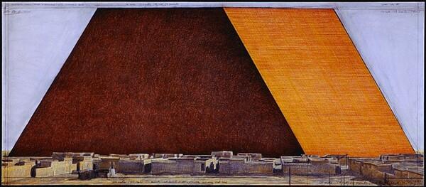 The Mastaba of Abu Dhabi, Project for United Arab Emirates [bottom panel]
