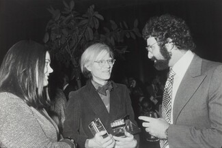 Andy Warhol, Norman Mailer's 50th Birthday Party, New York City