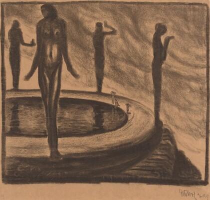 Nudes at Pool
