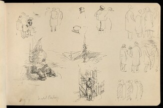 Isabel Bishop Early Sketchbook