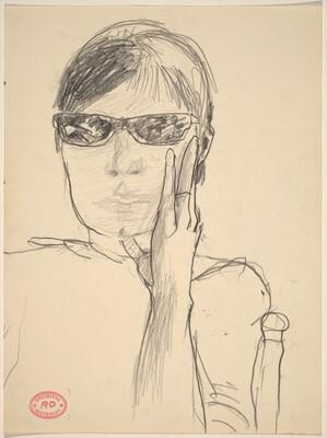 Untitled [woman wearing sunglasses]