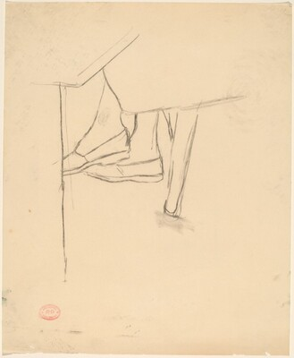 Untitled [study of feet]