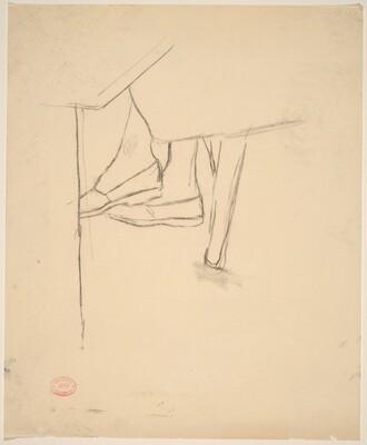 Untitled [study of feet]