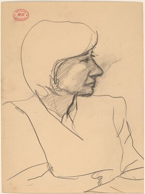 Untitled [profile of woman]