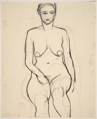 Untitled [female nude]