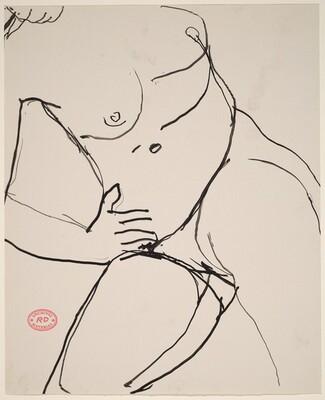 Untitled [nude female torso]