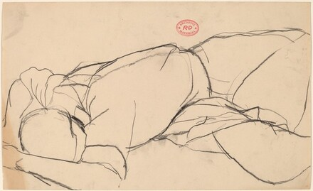 Untitled [reclining figure with face down]