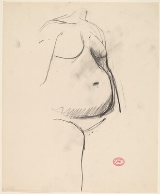 Untitled [female torso]