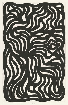 Black Loops & Curves No. 3