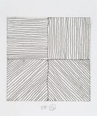 Eight Small Etchings/Black & White No. 1