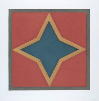 Stars-Blue Center: 4 point