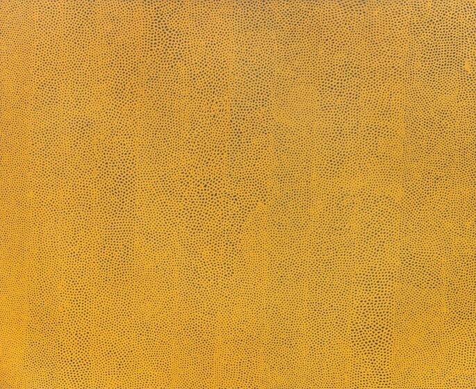 Yayoi Kusama, Infinity Nets Yellow, 1960