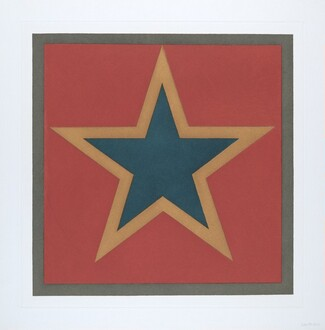 Stars-Blue Center: 5 point