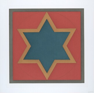 Stars-Blue Center: 6 point