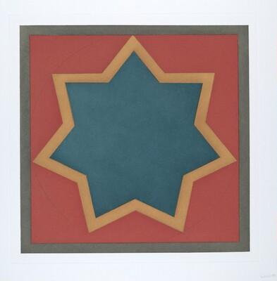 Stars-Blue Center: 7 point