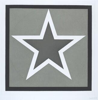 Stars-Dark Center: 5 point