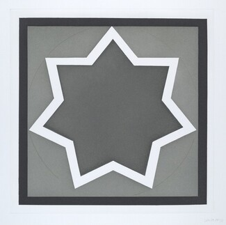 Stars-Dark Center: 7 Point
