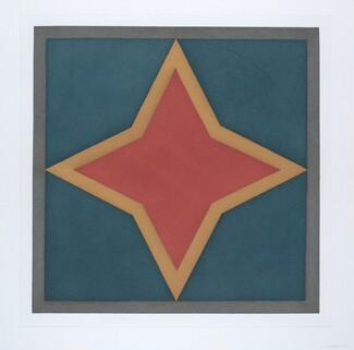 Stars-Red Center: 4 Point