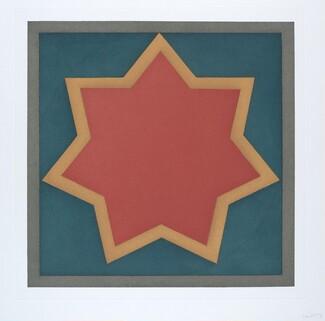Stars-Red Center: 7 Point