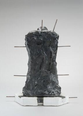 Lost-Wax Casting Display: wax model [fifth of ten steps]