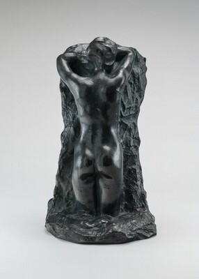 Lost-Wax Casting Display: chased bronze without patination [tenth of ten steps]
