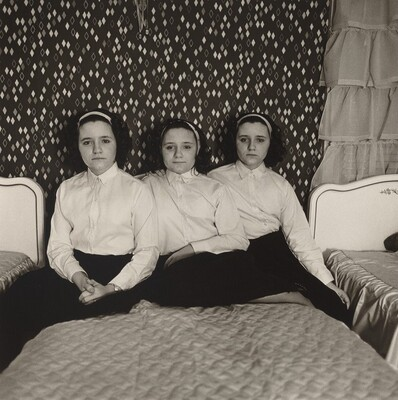 Triplets in their Bedroom, N.J.
