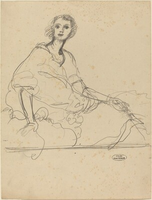 Study for the Portrait of Marie Harriman