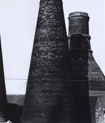Bottle Kilns in the Potteries, Stoke-on-Trent
