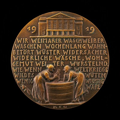 Washerwomen of Weimar [reverse]