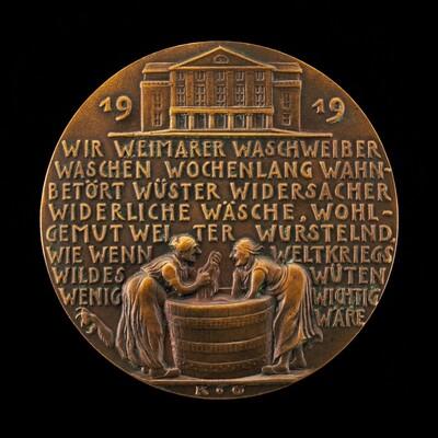 Washerwomen of Weimar [reverse]