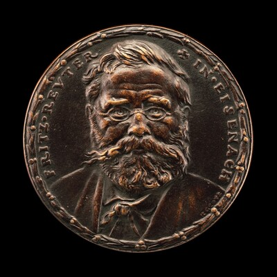 Fritz Reuter, 1810-1874, Writer [obverse]