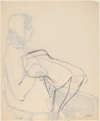 Untitled [study of legs and dress]