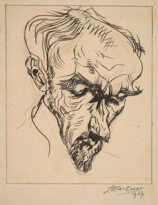 Portrait F. (Egmont R. O. Seyerlen)