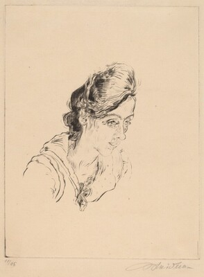 Portrait of Miss Buchholz