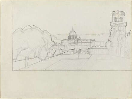 Saint Peter's Seen from the Janiculum Hill, Rome