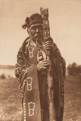 Hamasaka in Tlu'wuláhu Costume with Speaker's Staff - Qagyuhl [Plate 333]