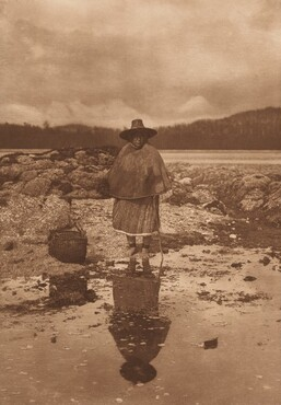 On the Beach - Nakoaktok [Plate 339]