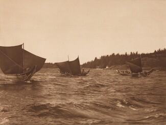 Rounding into Port - Qágyuhl [Plate 352]